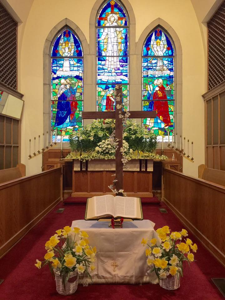 Beautiful Easter Sunday Altar