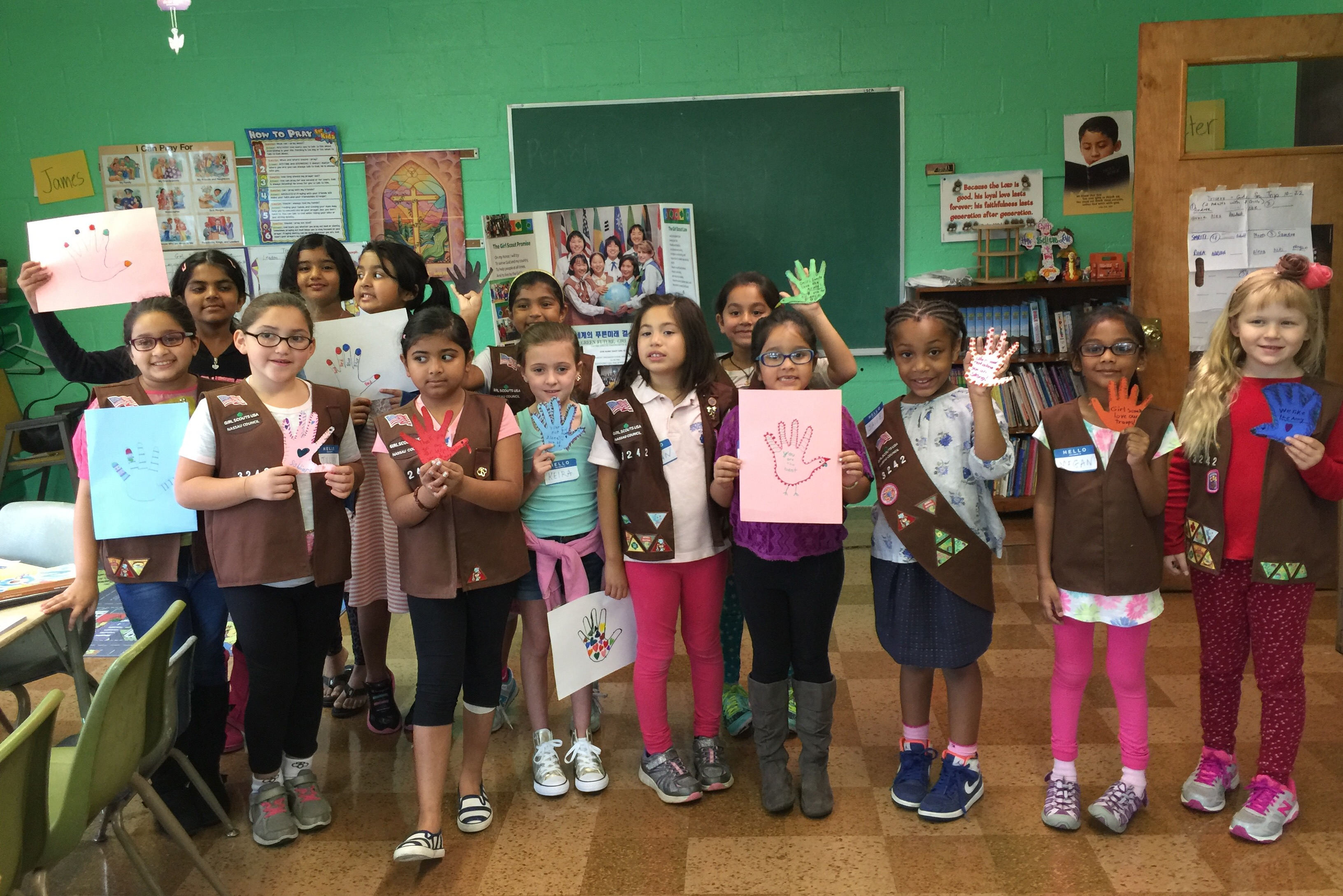 Growing Girl Scout Troop