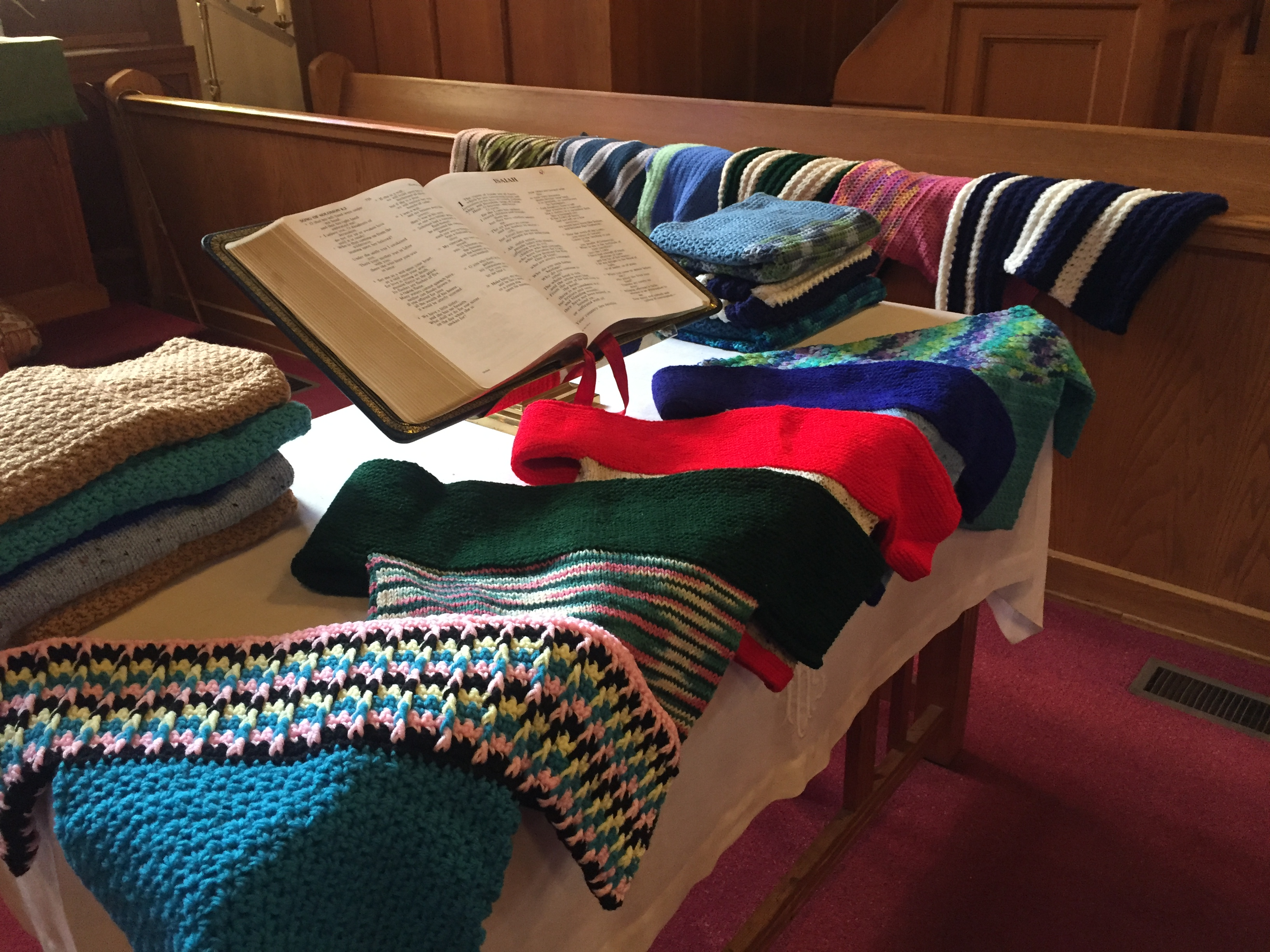 "UMW Sweater and Scarfs Ministry – ""Knit for Kids"""