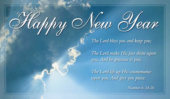happy new year god bless you