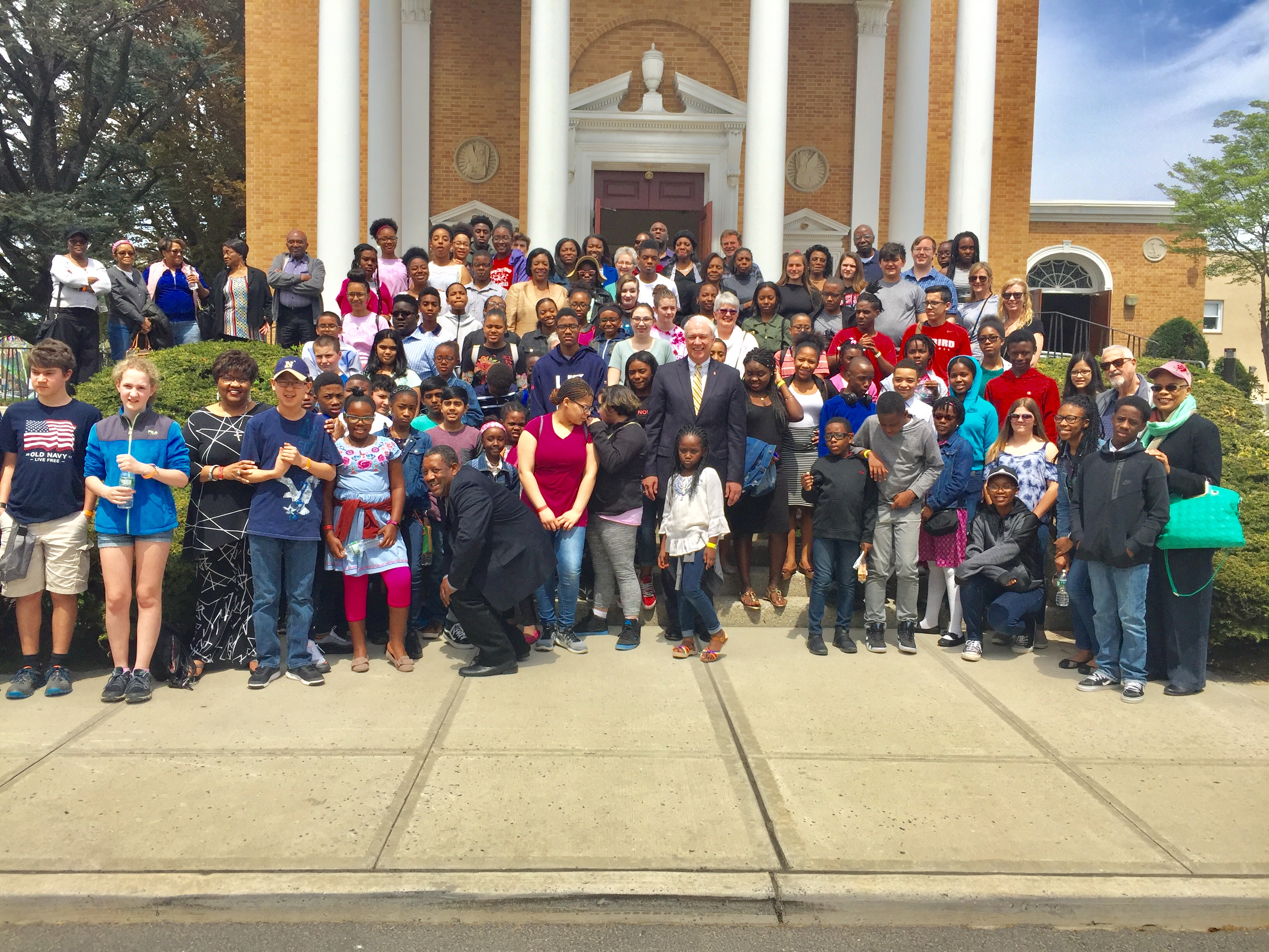 Confirmation Rally with Bishop Bickerton