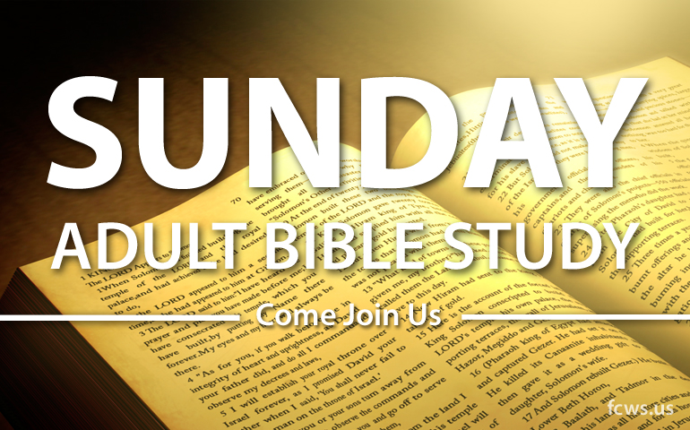 WE INVITE YOU TO JOIN US SUNDAY MORNINGS AT 8:30 AM