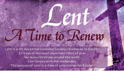 JOURNEY WITH US THROUGH LENT!