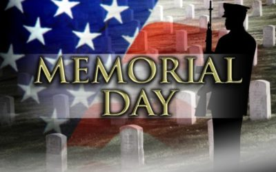 MEMORIAL DAY – THANK YOU FOR SERVING OUR COUNTRY!