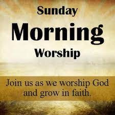 WE INVITE YOU TO WORSHIP WITH US SUNDAYS AT 10 AM!