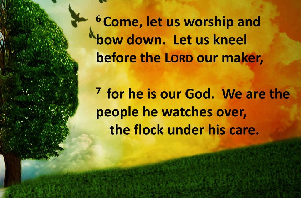 LET US WORSHIP THE LORD TOGETHER!